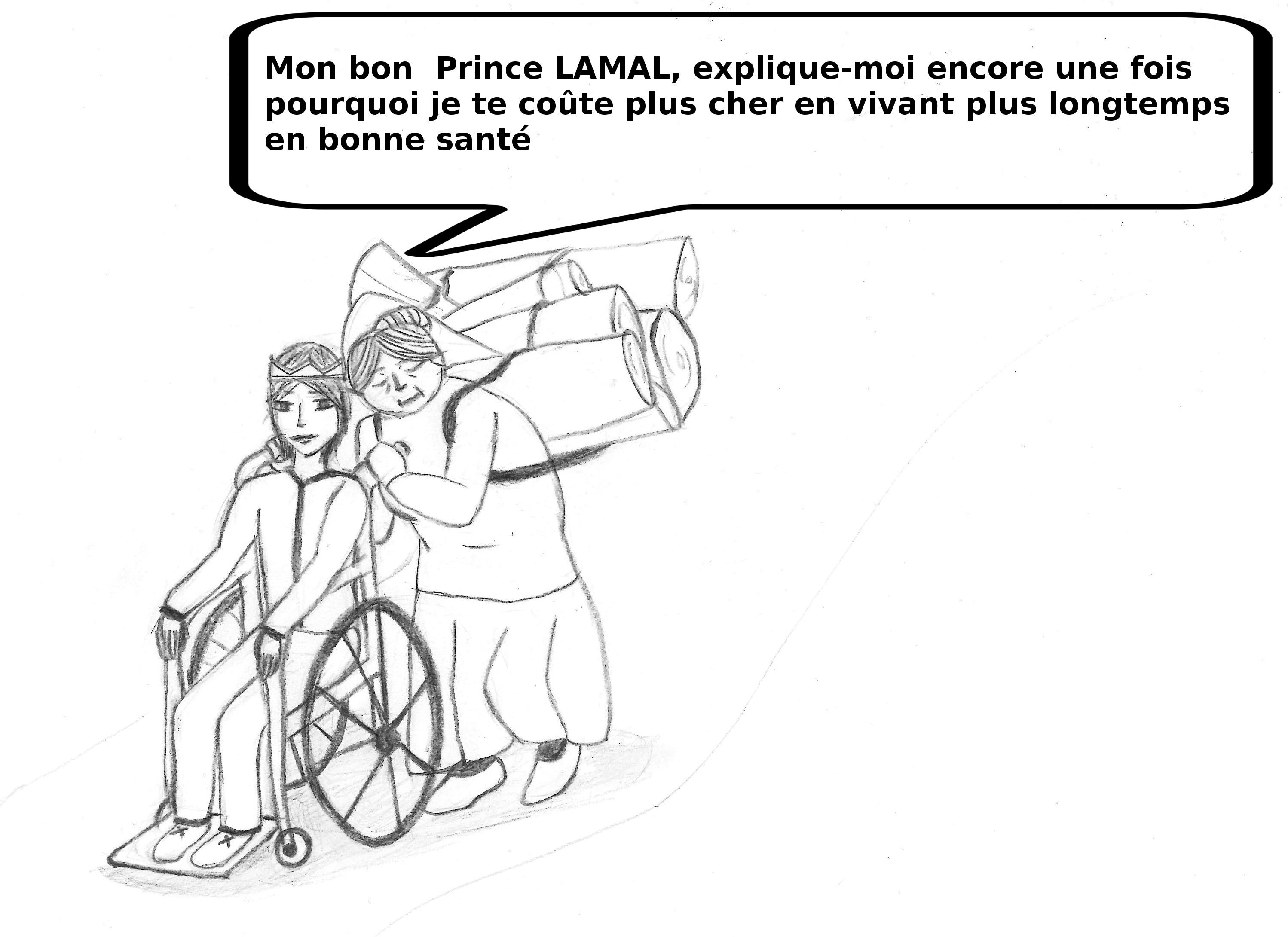 vieille et prince Lamal